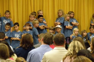KidZing Performance at Family Night